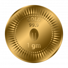 Mittal Group Pure Gold Coin 1 gram 99.9% Purity