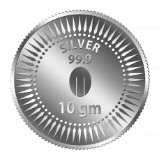 Mittal Group Pure Silver Coin 10 grams 99.9% Purity