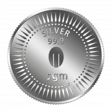 Mittal Group Pure Silver Coin 5 grams 99.9% Purity
