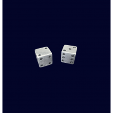 Pair of Silver Dice