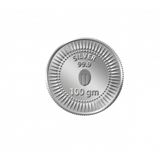 Mittal Group Pure 99.9% Silver Coin - 100 grams