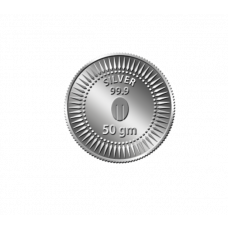 Mittal Group Pure 99.9% Silver Coin - 50 grams