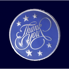 Personalised Thank You Coin