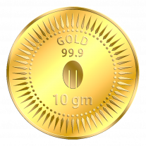 Mittal Group Pure Gold Coin 10 grams 24 KT (999)