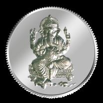 Lord Ganesh Coin - 10 grams - Silver 999