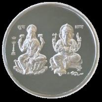 Lakshmi - Ganesh - 999 Silver Coin - 10 Grams