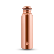 CopperKraft Pure Mirror, glossy, shiny Copper Water Bottle 1000 ml