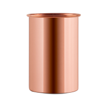 CopperKraft Pure Copper Mirror, Glossy Copper Tumblers Set