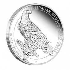 Australian Wedge-tailed Eagle 2017 1 oz Silver Proof Coin