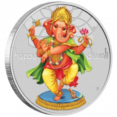 Diwali Festival 2018 1 oz Silver Proof Coin