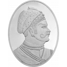 Indian King Coin - Silver 999