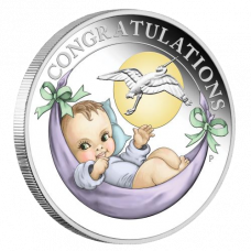 Newborn 2018 1/2 oz Silver Proof Coin