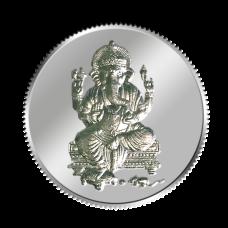 Lord Ganesh Coin - 5 grams - Silver 999