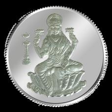 Goddess Lakshmi Coin - 20 grams - Silver 999