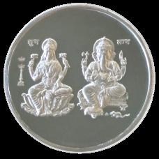 Lakshmi - Ganesha - 999 Silver Coin - 50 Grams