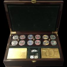 Grand Silver Poker Set