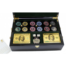 Ultimate Brass Poker Set