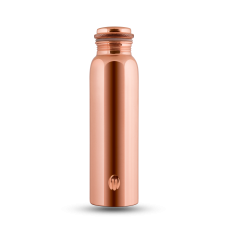 Mirror, glossy, shiny Copper Water Bottle 1000 ml