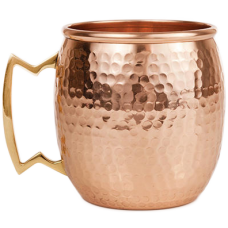 CopperKraft Hand-Crafted Pure Copper Moscow Mule Mug