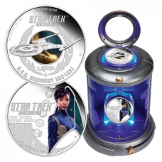 Star Trek: Discovery 2018 1 oz Silver Proof Two-Coin Set