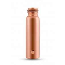 Matte, Satin finish Copper Water Bottle 1000 ml