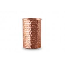 CopperKraft Pure Copper Hammered Copper Tumblers Set