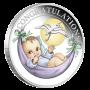 Newborn 2018 1/2 oz Silver Proof Coin