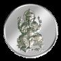 Lord Ganesh Coin - 50 grams - Silver 999
