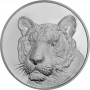 Indian Tiger - 999 Silver Coin - 100 Grams